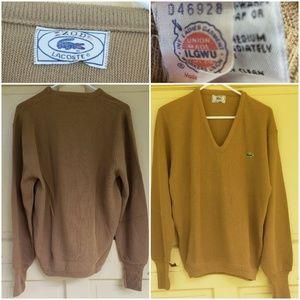 Vintage Izod Lacoste VNeck Sweater